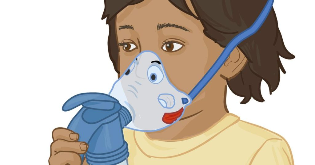 nebulizer compressor for treatment and care of your asthma