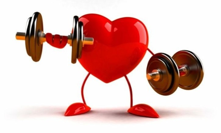 exercising-heart-lifting-weights-daily habits that harm your heart